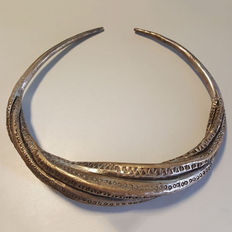 Large Viking Twisted Torc - Copper Alloy - 10th-12th Century AD - Viking period (Lake Ladoga, Russia)