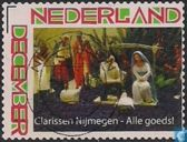 Nativity scene, poor Clares Nijmegen All good!