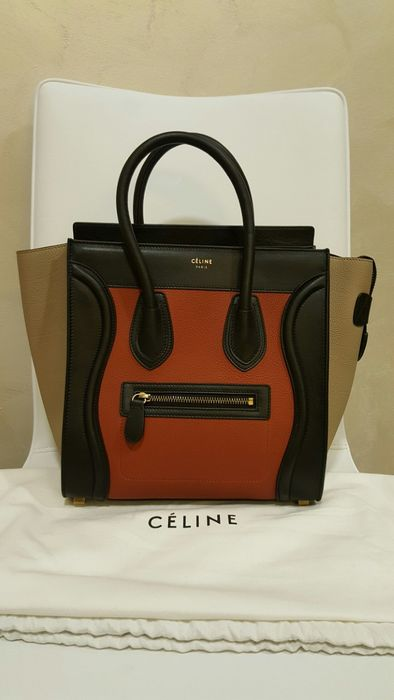 6d942bc198bb Céline Luggage Micro - Handbag - Catawiki