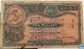 Hong Kong 10 Dollars 1946