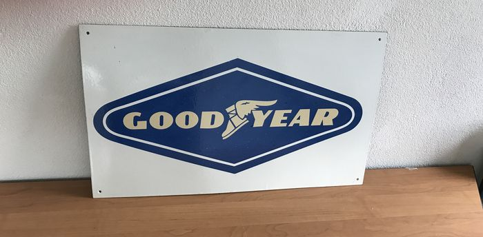 Good Year - advertising sign - 61 x 36 cm