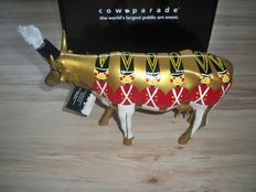 Astrid Dulex for Cowparade - moockette - Large and retired - In box with tag
