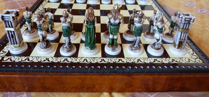 New decorative and collectible chess set catawiki - Ornate chess sets ...