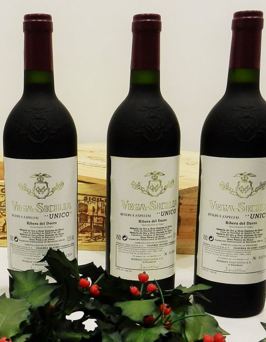 Vega Sicilia Unico Reserva Especial, Ribera del Duero - 2003 release - Coupage of the years 1985, 1990 and 1991.
