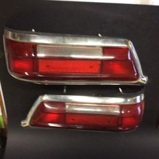 Pair of rear lights of Mercedes 220 SE from 1964