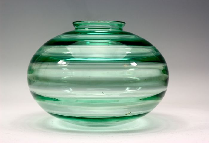 A.D. Copier (Leerdam)-vase with horizontal optics