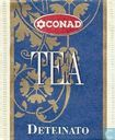 Tea bags and Tea labels - Conad - Deteinato
