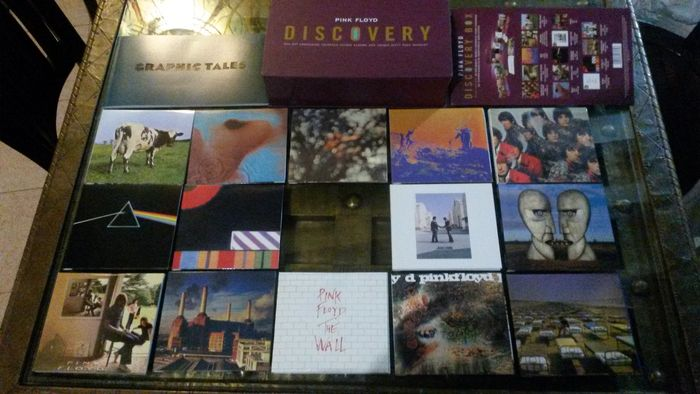 "Pink Floyd "" Discovery""-  Boxset,  14 Studio Albums on CD + Booklet"