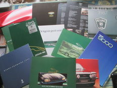 Bentley/Jaguar/Rolls Royce - 13x brochures - (1977-2004)