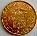 Coins - the Netherlands - Netherlands 10 gulden 1913