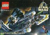 "Lego / Star Wars ""Tie Fighter's Y-Wing"""