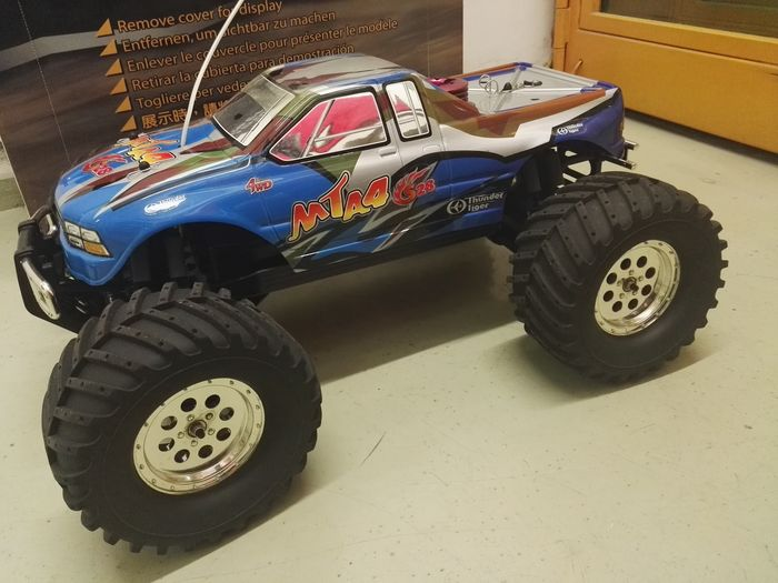 Thunder Tiger - Scala 1/8 - MTA4 1/8 4wd nitro monster truck