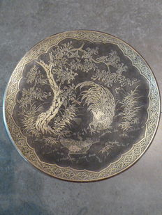 Bronze plate - Japan - end of C19