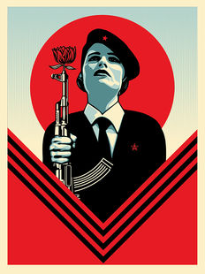 Shepard Fairey (OBEY) - Peace Guard 2
