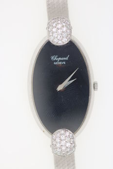 Chopard 750 white gold women's watch, jewellery
