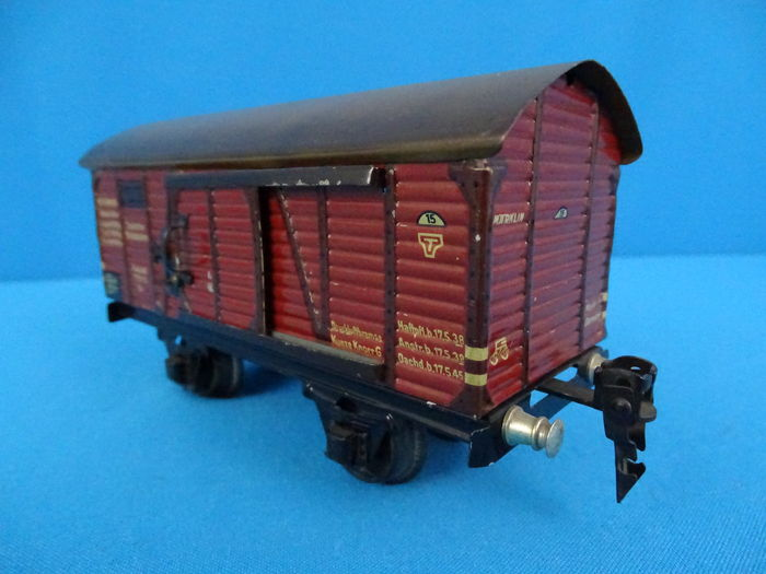 Track 0 - Märklin - 1781 K - Closed freight carriage