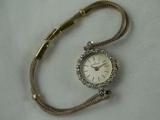 Hamilton - Women's watch with diamonds from the 1930s