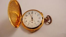 Volta repetition chronograph pocket watch with striking mechanism – Year 1893-1900