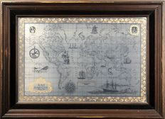 The Royal Geographical Society Silver Map, Franklin Mint