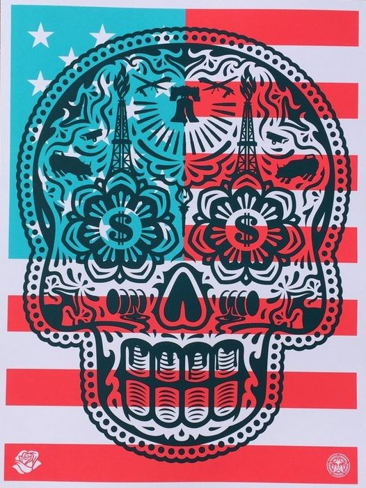 "Shepard Fairey (OBEY) - Power & Glory ""Merica"""