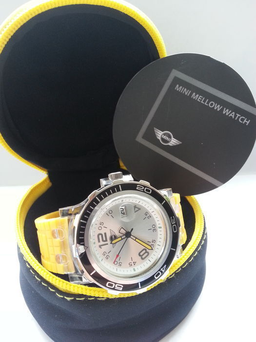 Mini Cooper Mellow wrist watch 2011-collector's item