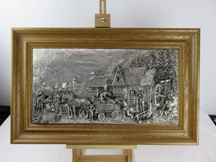 Pewter painting