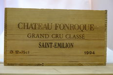 1994 Chateau Fonroque, Saint-Emilion, Grand Cru Classe, France, 12 flessen in OHK.