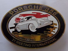 Porsche 356 Luxembourg Meetings International mei 1998 / Vintage Car Emblem