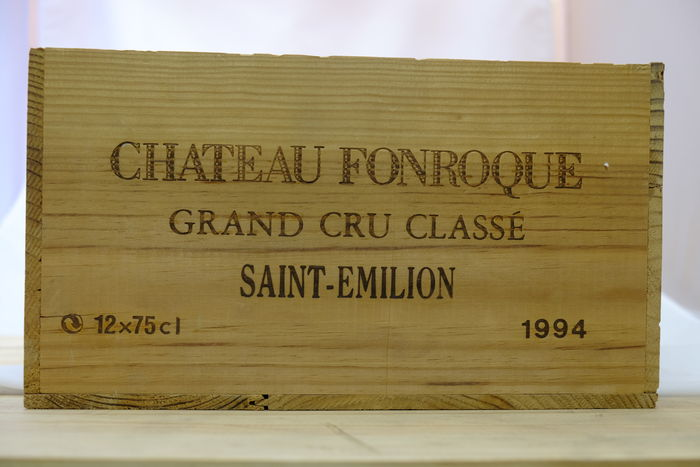 Chateau Fonroque, Saint-Emilion Grand Cru Classe, France, 1994 - 12 bottles in OWC