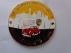 Porsche 356 Dortmund 6-8 sept.  2013 Club Germany 38 Years /  Auto Embleem