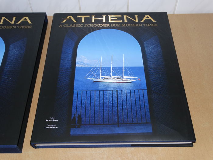 Jack Somer - Athena. A classic schooner for modern times - 2005