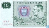 Zweden 10 Kronor 1979 (Replacement)