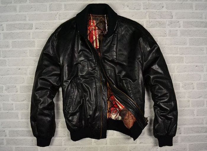 Iceberg Paris Bernie Dakar Leather Jacket Catawiki