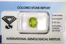 Sphene  - 2.53 ct