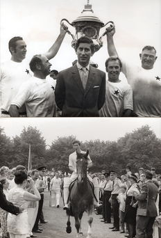 "Unknown / Keystone Press Agency - HRH The Prince of Wales ""Cricket and Polo"" - 1971 & 1972"