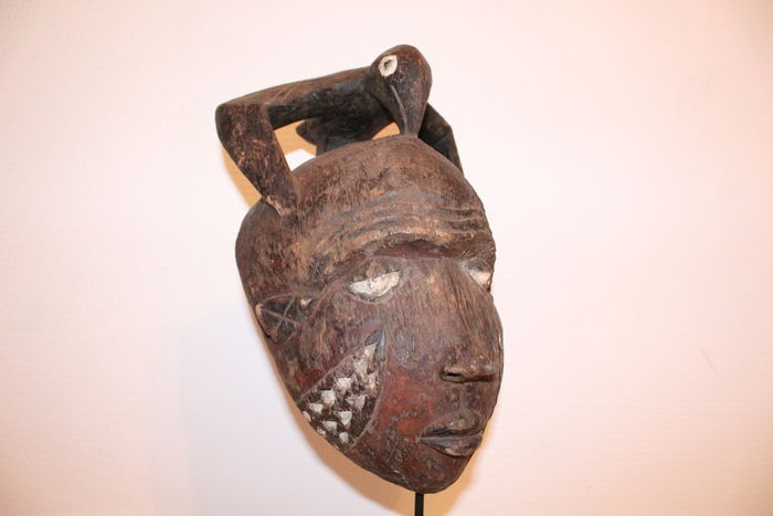 Mask Njembe - Pende - DRC Zaire - african art