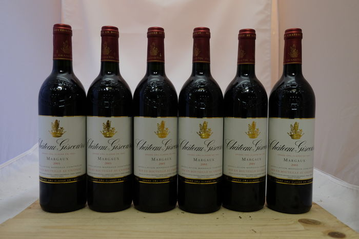 2001 Chateau Giscours, Grand Cru Classe Margaux – 6 bottles