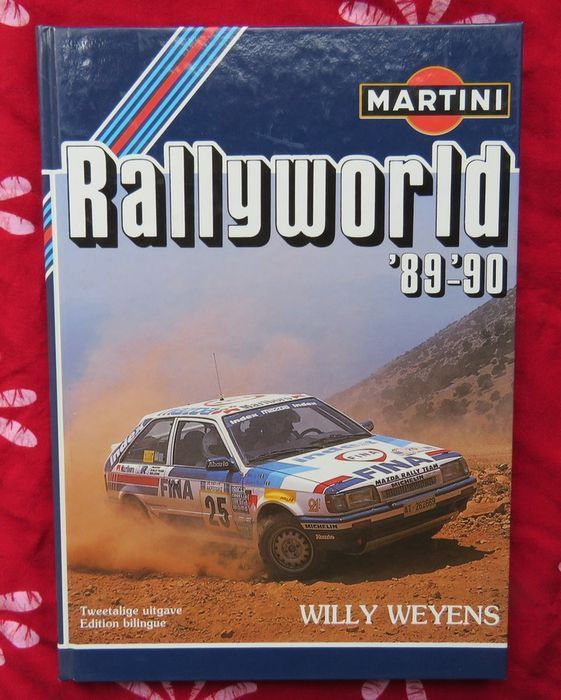 Automobile races; Lot with 2 books about the rally season '89-'90 - 1989/1990