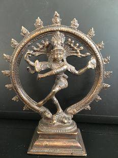 Bronze of Shiva Nataraja – India – end of the 20th century