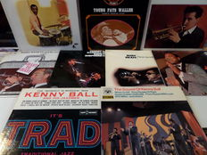 Lot of eightteen great old jazz records.