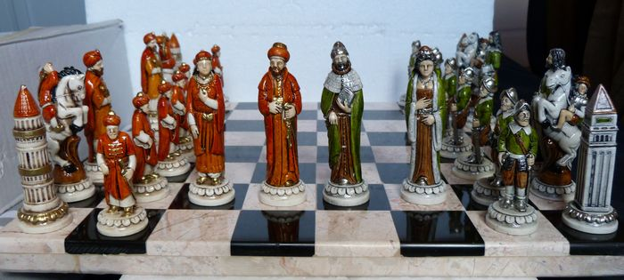 New decorative and collectible chess set