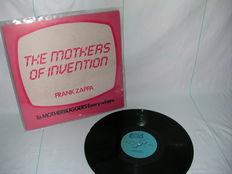 Frank Zappa   The Mothers- To Motherbuggers Everywhere and double LP  The Mothers of Invention. Very rare records from a private collection.