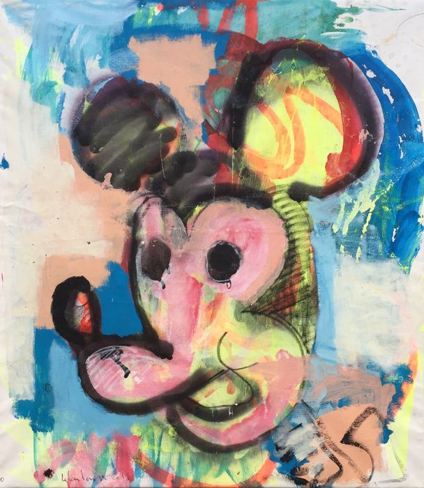 Peter Klashorst - Mickey Mouse