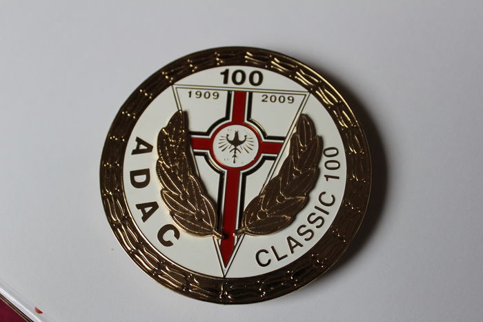 ADAC Classic 100 Car Grill Badge