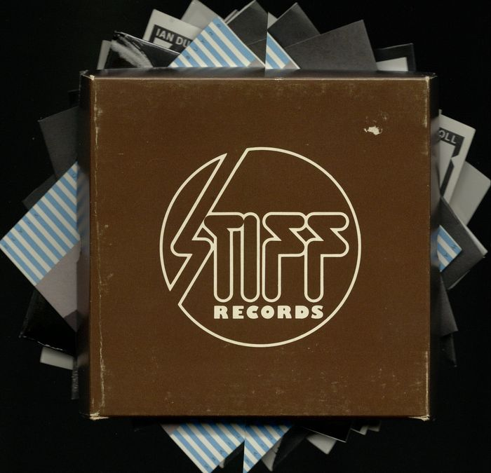"Stiff Records 1979  ""Buy 11- 20"" Box Set  10 x 7"" Vinyl records Various Artists"