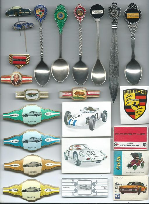 Porsche 54 various Rare Collector's items