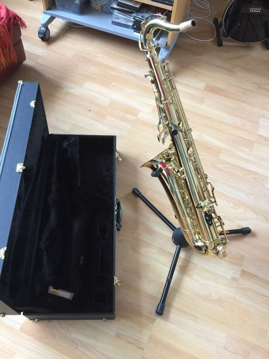 Amazing Tenor Saxophone Evette Buffet Crampon With Case Mouthpiece Carrying Strap And Some Reeds Catawiki Interior Design Ideas Lukepblogthenellocom