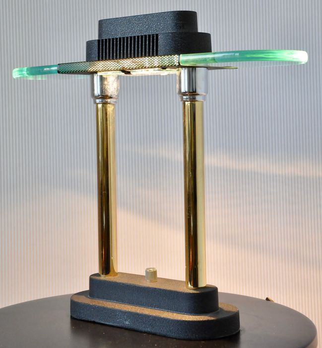 Modern Halogen Desk Lamps : Post modern designer halogen table and desk lamp memphis