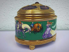 The House of Faberge music box by Franklin Mint - Cinderella