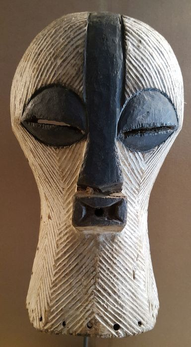 Very Nice KIFWEBE mask - SONGYE - Democratic Republic of Congo